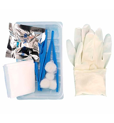 Disposable wound dressing kit