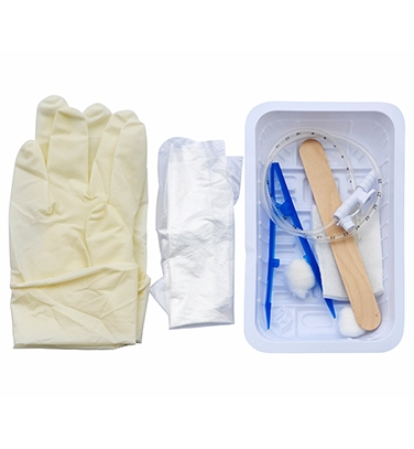 Disposable suction catheter kit